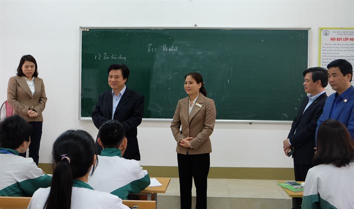 Bộ Giáo dục và Đào tạo (GDĐT) đã kiểm tra công tác phòng, chống dịch bệnh Covid-19