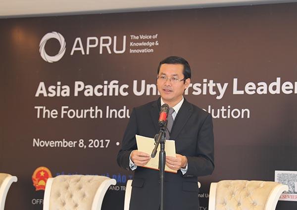 Diễn đàn Hiệu trưởng các trường đại học Châu Á - Thái Bình Dương: Hợp tác đào tạo nguồn nhân lực trong kỷ nguyên số
