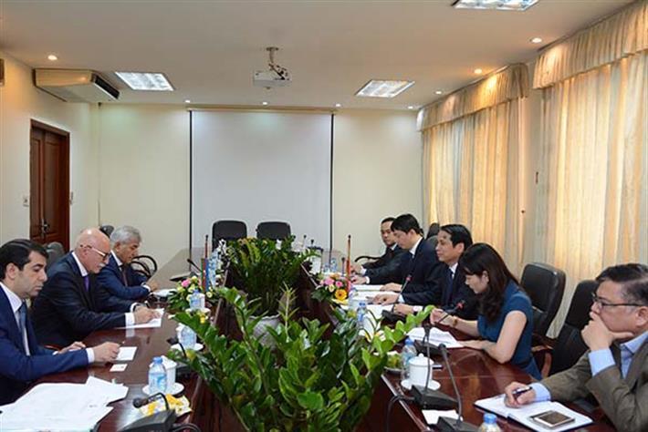 Việt Nam và Azerbaijan thúc đẩy hợp tác giáo dục và đào tạo