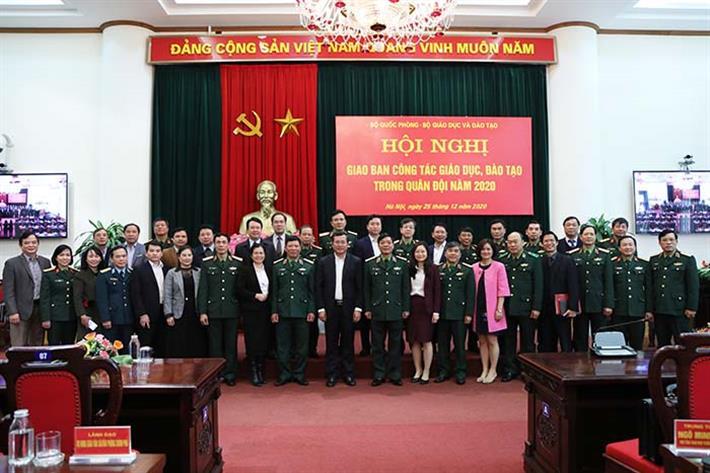 Tăng cường phối hợp giữa Bộ GDĐT và Bộ Quốc phòng trong hoạt động giáo dục, đào tạo