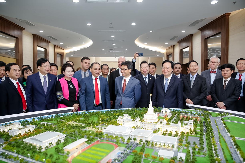 Khuyến khích nhà đầu tư có chiến lược và khát vọng phát triển trường đại học đạt trình độ quốc tế