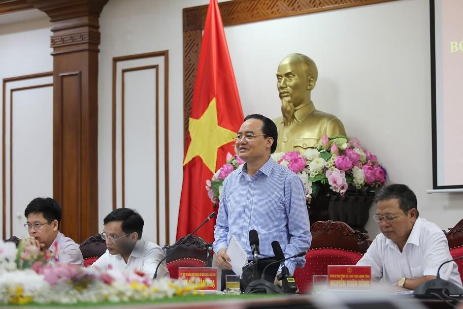 Bộ trưởng Phùng Xuân Nhạ: Tổ chức một Kỳ thi tốt là tạo niềm tin cho nhân dân