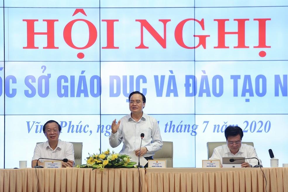 Hội nghị Giám đốc sở GDĐT: Khởi động một năm học thành công