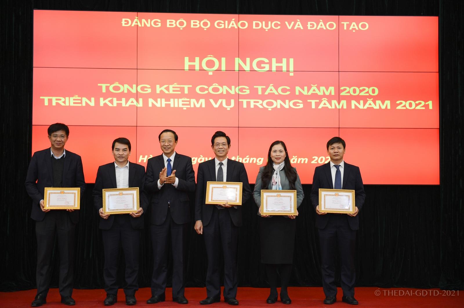 Đảng bộ Bộ GDĐT triển khai nhiệm vụ năm 2021