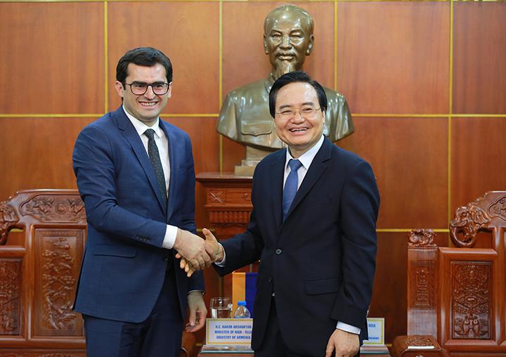 Tăng cường hợp tác giáo dục Việt Nam - Armenia