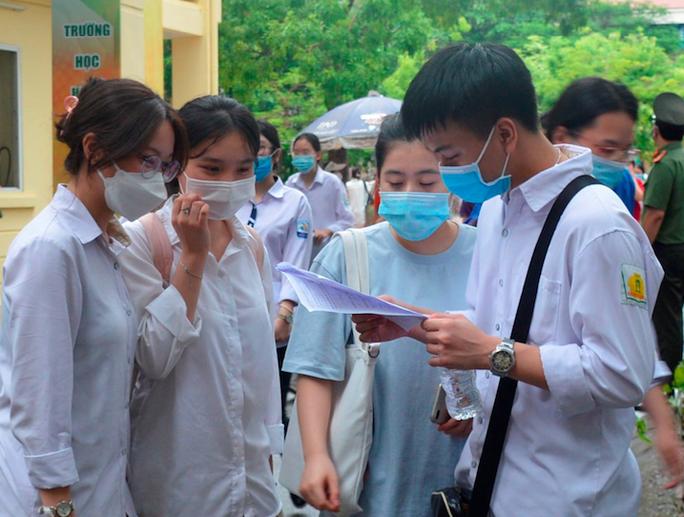 Bổ sung phương án tuyển sinh với thí sinh không tham dự thi tốt nghiệp do dịch bệnh